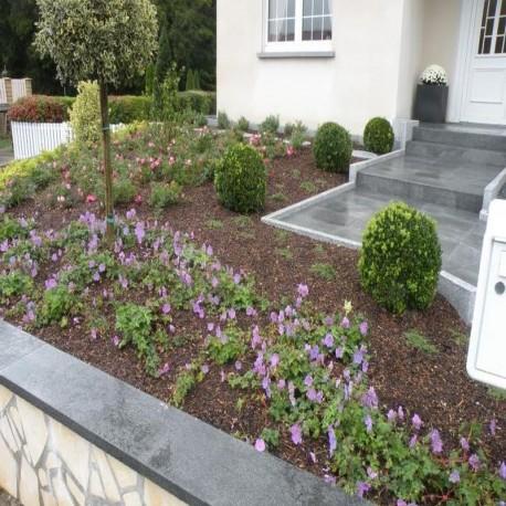Granit-Blockstufen Elena Blindenleitsystem 15 x 35 cm 50 cm lang