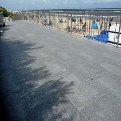 Basaltlava Terrassenplatten Vulcano Anthrazit 3 cm