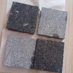 Granit Mauersteine 40 cm hoch Lager gesägt 60 - 100 cm lang