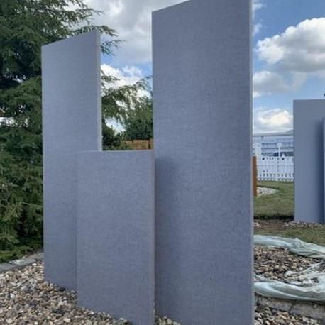 Granit Blockstufen Tiago Hellgelb 18 x 40 cm gestrahlt 200 cm lang