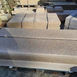 Straßenpoller Diana Granit Griys Hellgrau Rund D 40 cm