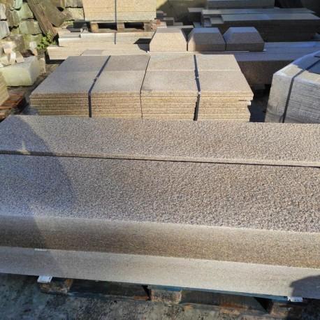 Straßen Poller Diana Granit Griys Hellgrau Rund D 40 cm