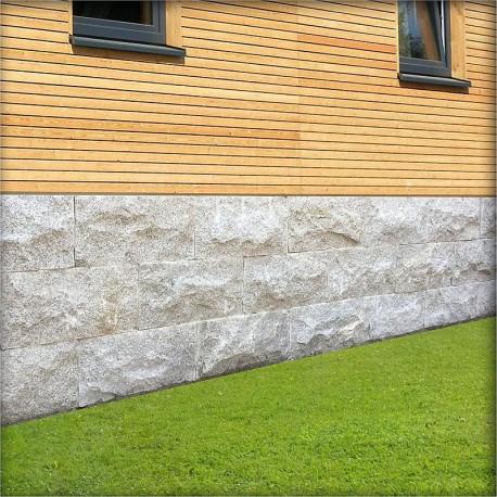 Muschelkalk Mauer blau grau gelblicher muschelkalk stein für trockenmauern